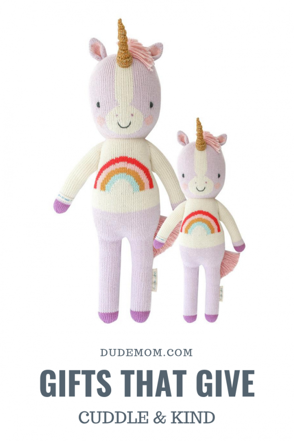 Gifts that Give Back: hand knit toy