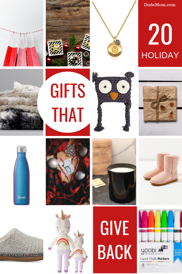 Gifts that Give Back: 20 Gift Ideas That Give When You Buy