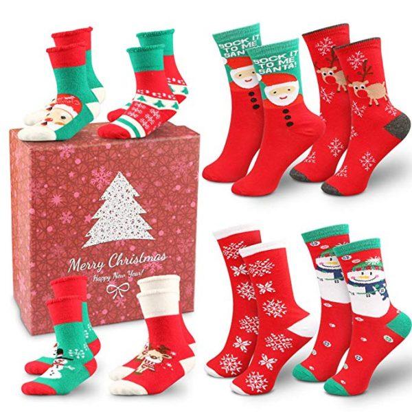 2018 Holiday Family Gift Ideas: Family christmas socks