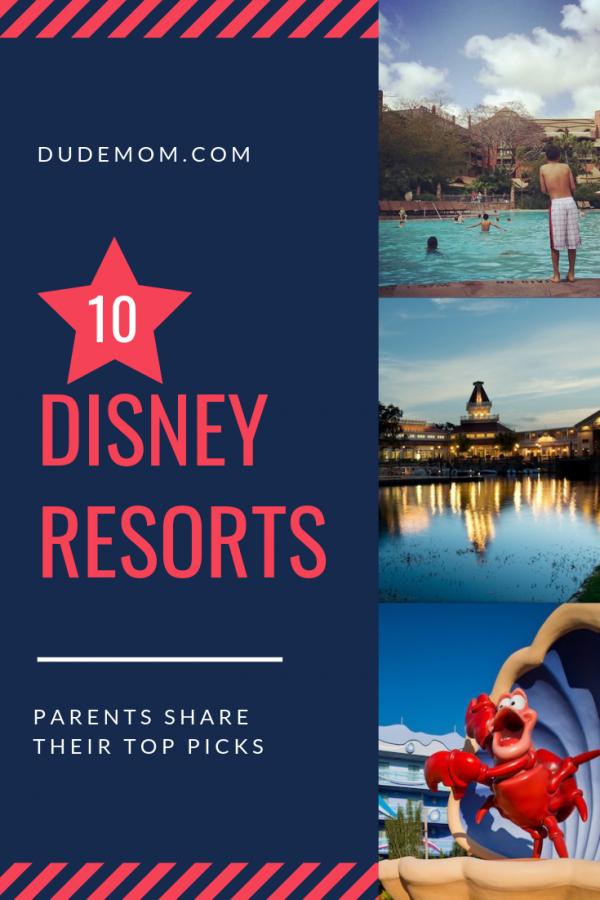 best disney resort hotels according to parents