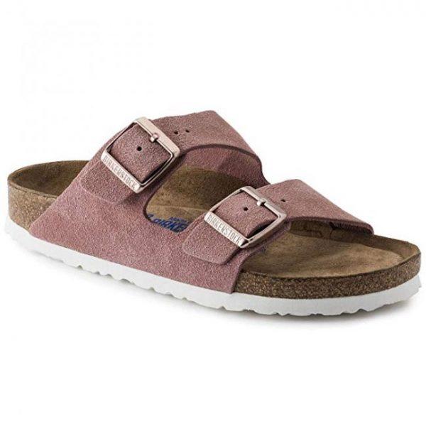 summer style pink birkenstock sandals