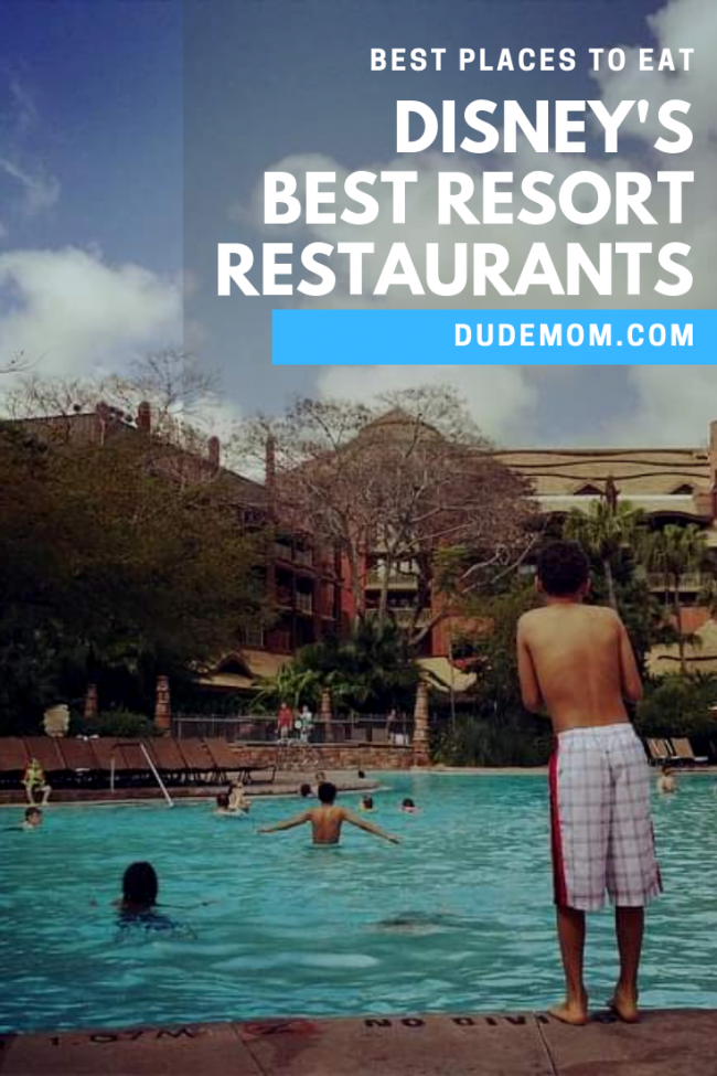 best places to eat disney world resort restaurants