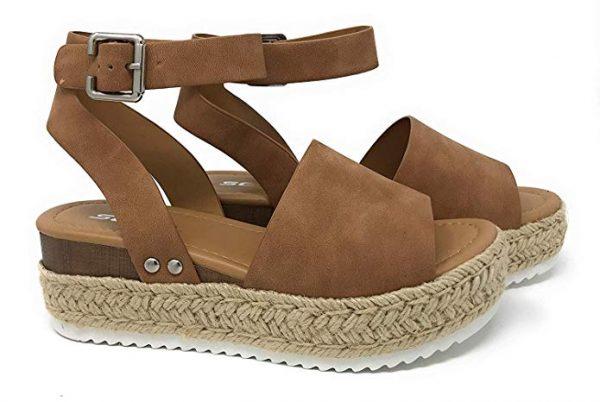 Summer Sandals: Platform Espadrilles