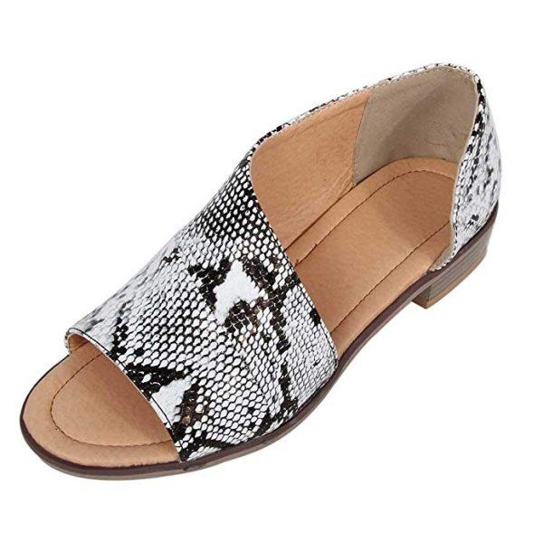 Snake Skin Summer Sandals