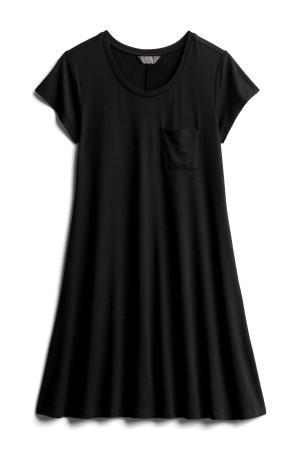 Stitch Fix Unboxing: black t-shirt dress