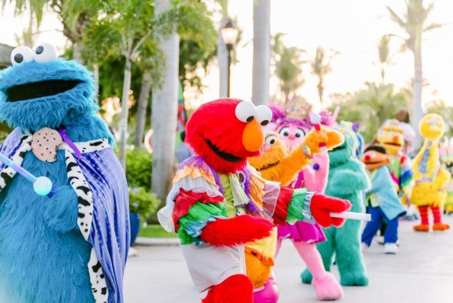 Beaches Turks and Caicos Sesame Street Parade