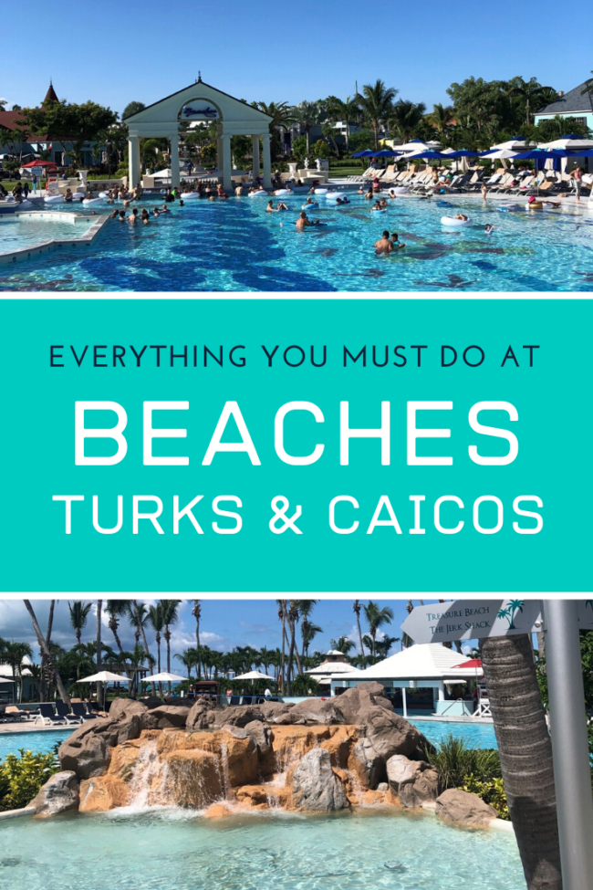 Things to do at Beaches Turks and Caicos