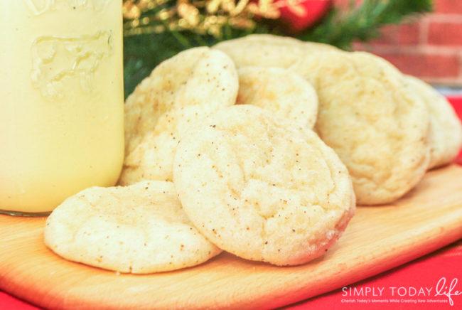 Eggnog Christmas Cookies