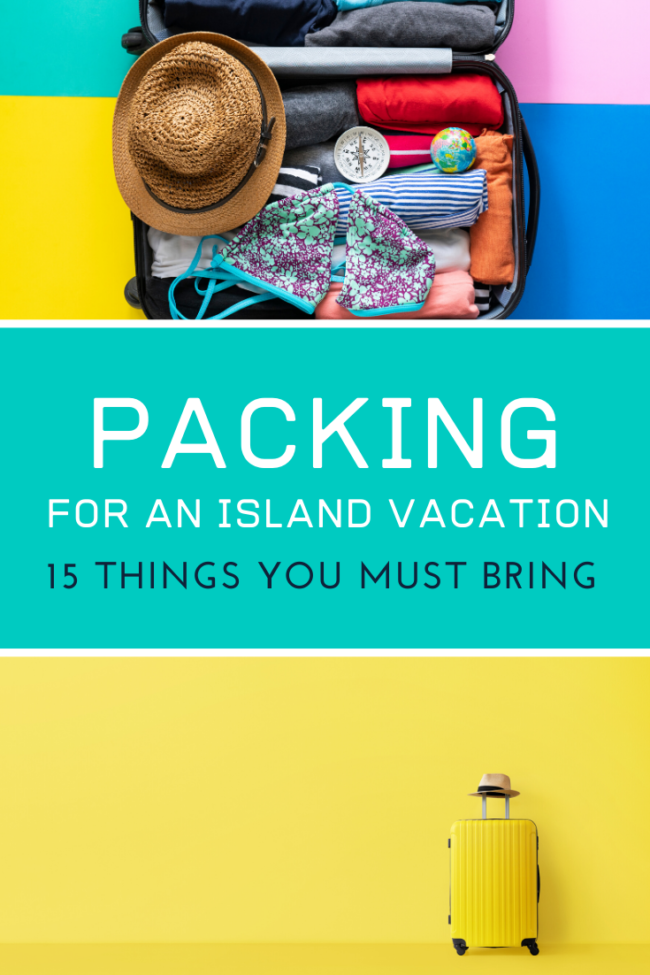 packing for an island vacation