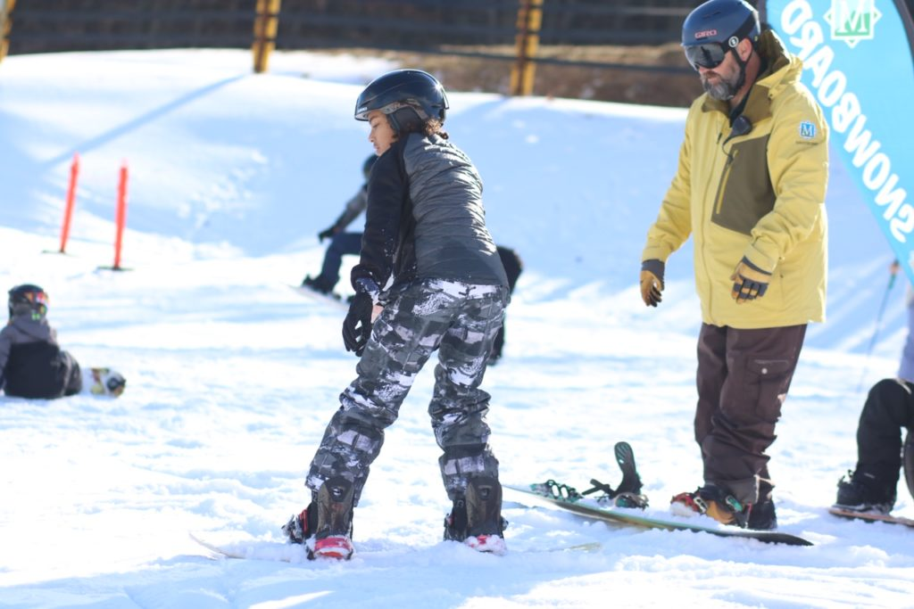 Massanutten Virginia with Kids: Massanutten Resort Snowboarding Lessons