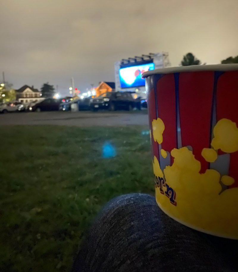 frederick drive in movie screen