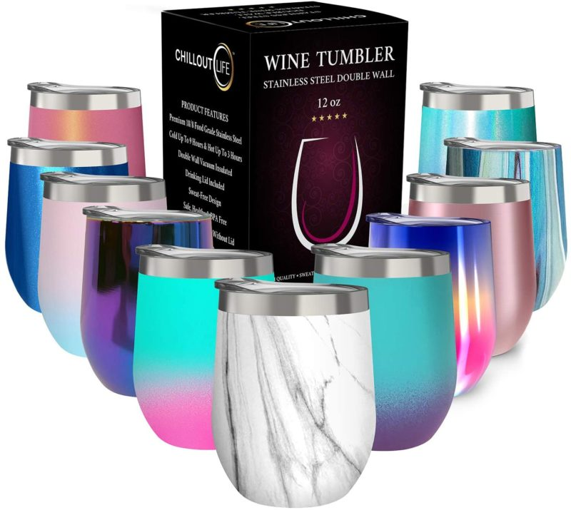 mother's day gift ideas - wine tumbler