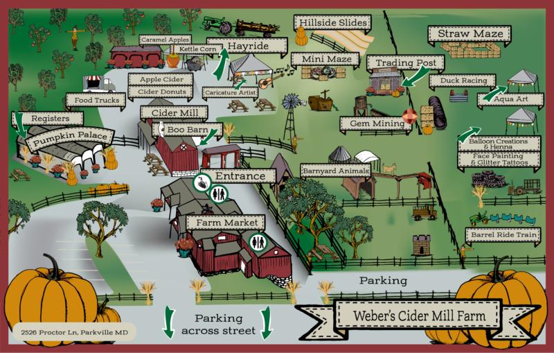 Fall Festivals in Maryland - Weber's Cider Mill Farm